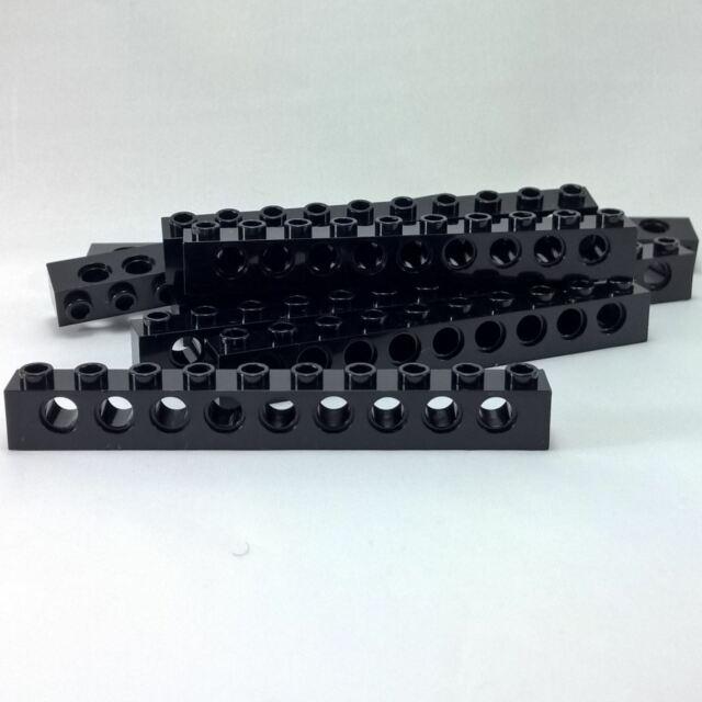 1x10 Light Gray Technic Beam Brics w// 9-holes Brick ~ Lego ~ NEW ~ 4