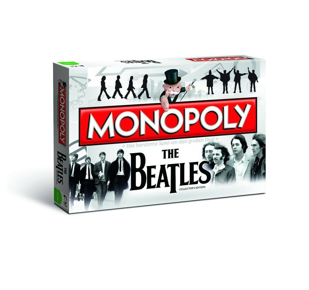 Monopoly the Beatles Game Party Game Board Game Collector's Edition New