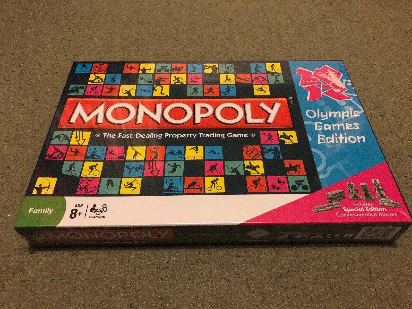Olympische spiele 2012 edition monopol familie brettspiel brand - neuen und versiegelt