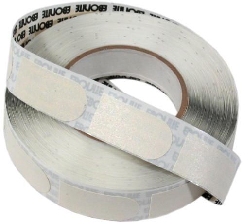LOT OF 2- Ebonite 500 Peice Bulk Roll White 1 2  Bowlers Tape