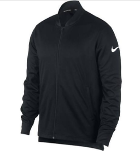 79307b40 Details about NWT Men's 856573-010 Black Dri-Fit NIKE Dry Rivalry Basketball  Jacket Full Zip L