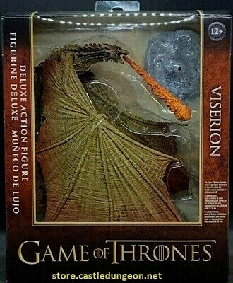 Viserion Game of Thrones Deluxe coffrets version 2 McFarlane Toys