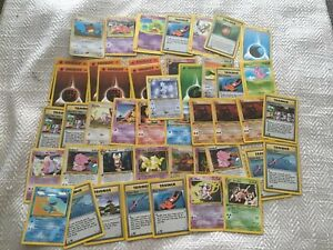 Pokemon-TCG-first-edition-Card-Lot-45-Cards-Holo-rare-used-played-Togetic-1st-ed
