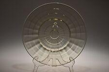 "1929 - 1933 BLOCK OPTIC Anchor Hocking TOPAZ / YELLOW - 8"" Salad Plate"