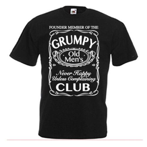 Grumpy Old Men/'s Club-Gracioso Camiseta Para Hombres Top Gracioso Camiseta