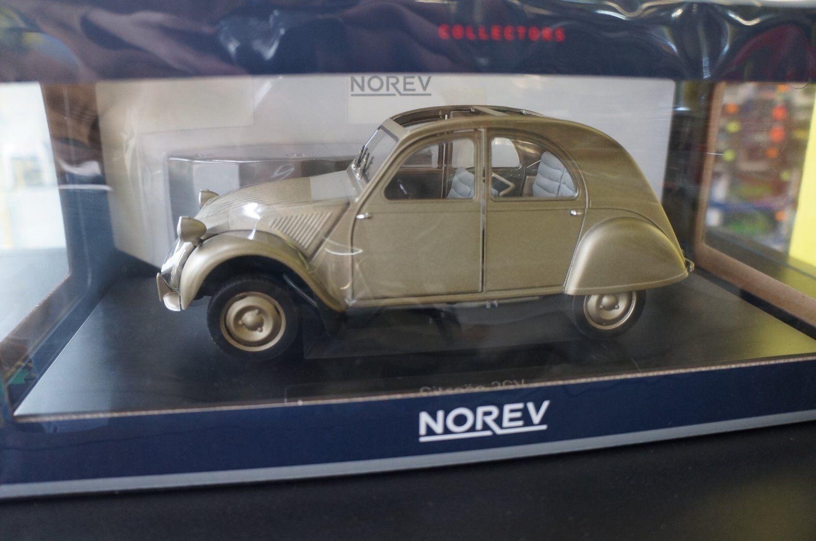 Miniature 1 18 norev  2cv A A A 1950 citroen neuve en boite 3931c3