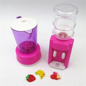Doll-Plastic-Juicer-Water-Dispenser-Set-For-Kitchen-Accessories-Kids-ToyH-J-amp