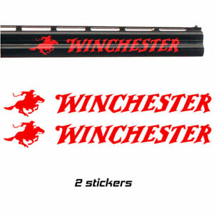 Details about 2x WINCHESTER Vinyl Decal Sticker  3 sizes  9 colours