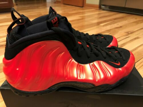 7 5 hombres para Nike Habanero Red Air talla One 314996 826220075037 Foamposite 603 qq0vPB8