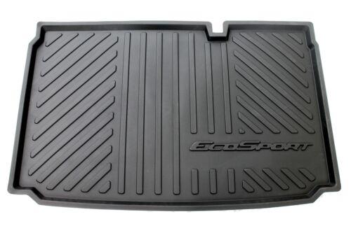 Original Ford EcoSport a partir de 10//2017 alfombrilla de Tina cáscaras maletero alfombra de goma