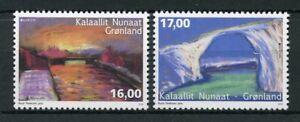 Greenland-2018-MNH-Bridges-Bridge-Europa-2v-Set-Architecture-Tourism-Stamps