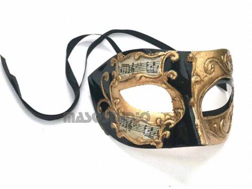 Couple Gold Black Masquerade mask Pair birthday wedding Mardi Gras Parade Party