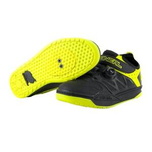 the best attitude f2d40 e6e3d Dettagli su Scarpe MTB O'NEAL SESSION SPD HI-VIZ