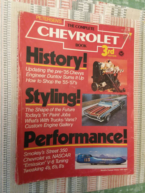 The Complete Chevrolet Book 3rd Edition Petersen