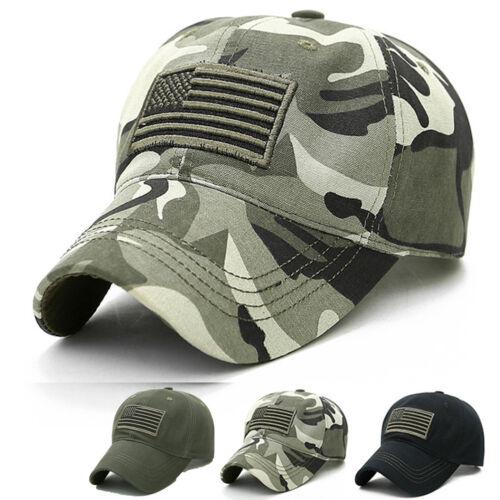 Herren Militär Baseball Cap Basecap USA Flagge Tactical Combat Schirmmütze Kappe