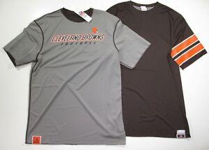 60-NFL-Cleveland-Browns-Mens-Double-Option-II-Jersey-Shirt-short-sleeve