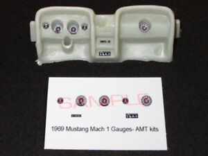 1969-FORD-MUSTANG-MACH-1-GAUGE-FACES-for-1-25-scale-AMT-KITS