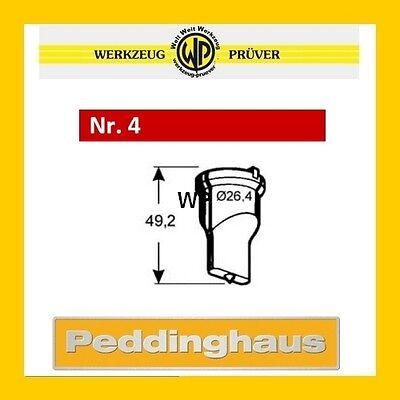 2019 Neuer Stil Peddinghaus Langlochstempel Nr.4 Rot 5,5-18,0mm Frei Wählbar Langloch-stempel