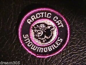 ARCTIC-CAT-Vintage-Patch-Original-Snowmobile-Sled-Badge-1970-039-s-Skidoo