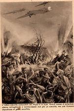 WW2 CARTOLINA AOI GLI AVVENIMENTI ILLUSTRATI negus ascari eritrea