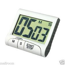 Digital Kurzzeitmesser Magnet Weiß Eieruhr Küchenwecker Küchenuhr Stoppuhr Timer