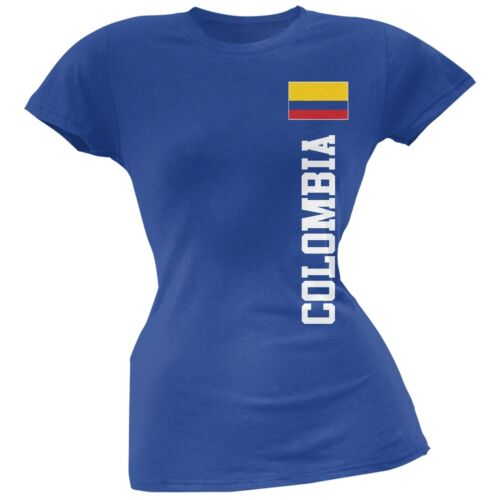 World Cup Colombia Royal Soft Juniors T-Shirt