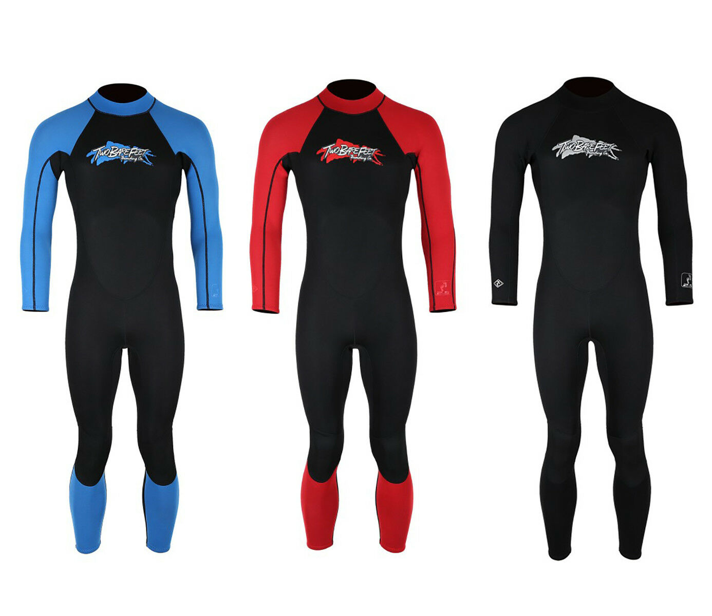 VF ADULT FULL WETSUIT by Two Bare Feet Surf surfing diving TBF VF long