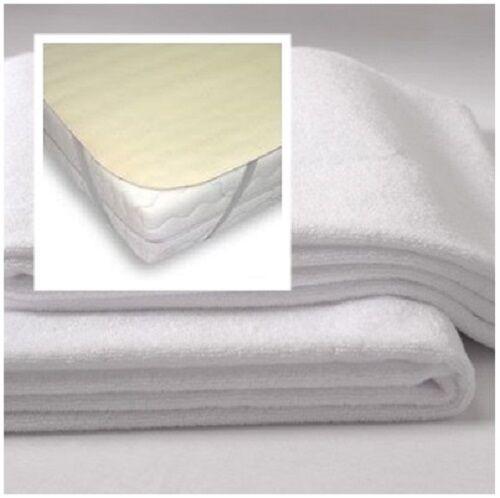 Matratzenschoner Matratzenauflage für Babybett 70x140 , 60x120 Nässeschutz weiß