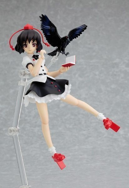 Figma 090 Touhou Project Traditional Reporter of Fantasy Aya Shameimaru Figure