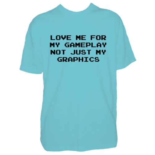 Mens Love Me For My Gameplay Video Game Tshirt Funny Gamer Gift T Shirt