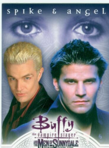 Buffy TVS Men Of Sunnydale Promo Card P-i