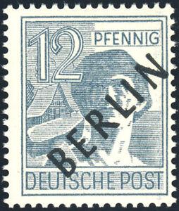 BERLIN-MiNr-5-x-dickes-Papier-tadellos-postfrisch-gepr-Schlegel-Mi-70