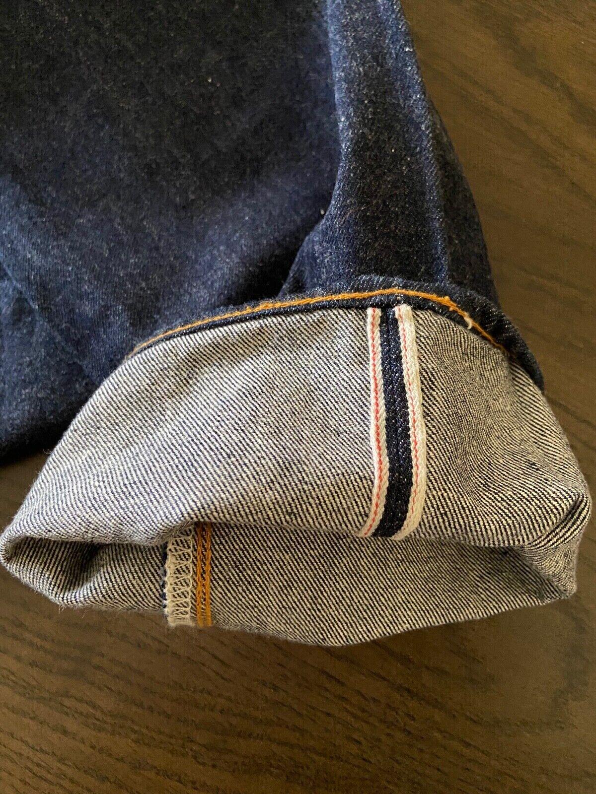 Vintage LEVIS 501 Big E Jeans Selvedge Redline Bu… - image 5