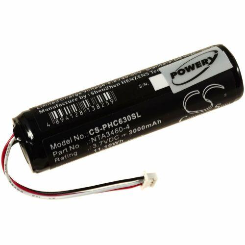 Akku für Philips Typ NTA3460-4 3,7V 3000mAh//11,1Wh Li-Ion
