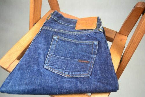 Indigofera fades selvedge jeans in tag 38 fits 36