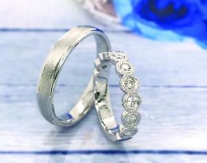 36-Carat-Diamond-White-Gold-Wedding-Rings-14K-MTO-sep