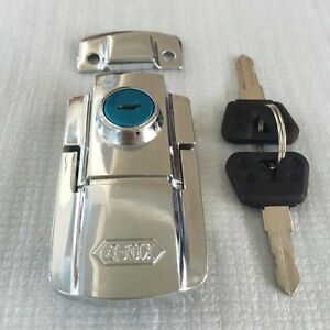 Details about Lock Set Latch with Keys For DMY Trunk Brand New