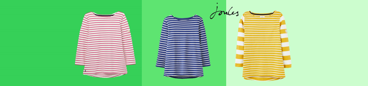 Up to 60% off Joules