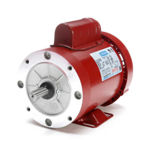 Leeson Electric Motor 116487.00 3//4 HP 1725 Rpm 1PH 115//208-230 Volt 56C Frame