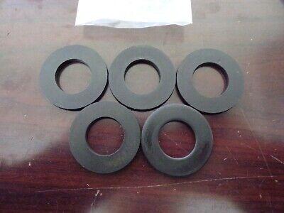 3//8 x 7//8 OD Plain Finish Case Hardened Steel Thick Flat Washers 50 pk.