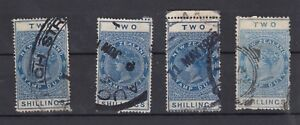 New-Zealand-QV-2-Duty-Revenue-x-4-SGF9-Fine-Used-J3658