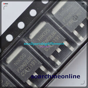 10pcs P70N02LDG new genuine from Nikos TO-252 | eBay