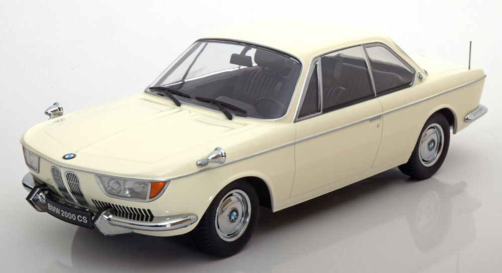 Bmw 2000 cs 1965 - limited1000 pcs 1,18 modell kk - skala