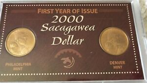 2000-P Sacagawea Dollar Official First Day Of Issue