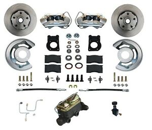 1964 65 66 mustang falcon comet front disc brake conversion kit 4 rh ebay com 66 Mustang Transmission Used 66 Mustang Project Car