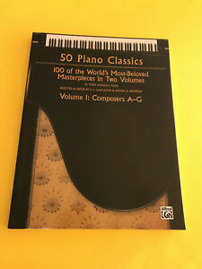 100 Of The World's Most-beloved Masterp Herzhaft 50 Piano Classics Vol Composers A-g 1
