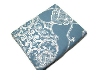 Pottery Barn Blue Ivory Alana Medallion Cotton Full Queen