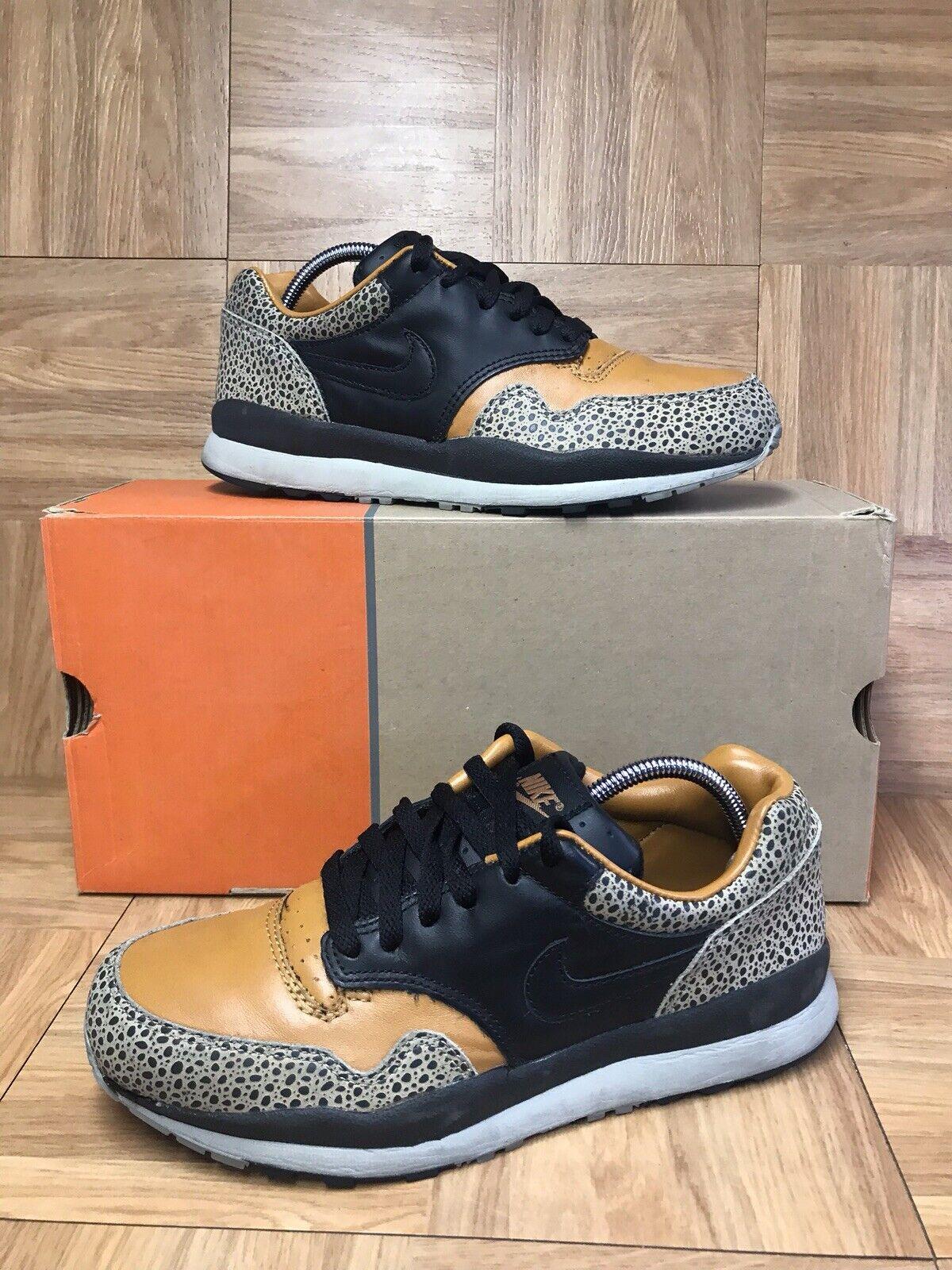 Vintage Nike Air Safari Tan Charcoal Black Sz 7 Men's shoes 306324-201 VNTG