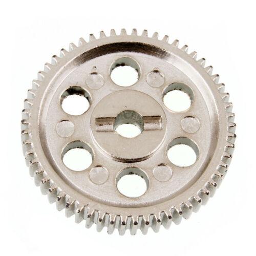 Fit 1//10 Electric On-Road Drift Car RC 03004 Metal Diff 58T Main Gear