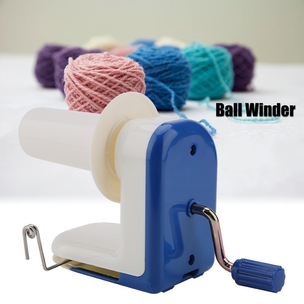 Manual Hand Operated Knitting Roll String Yarn Fiber Wool Thread Ball Winder Holder Crafting Accessories Ball Winder for Yarn
